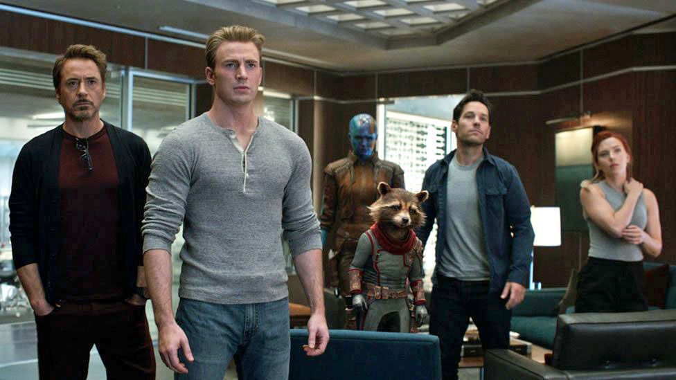 Secrets of the Avengers' group WhatsApp - BBC News