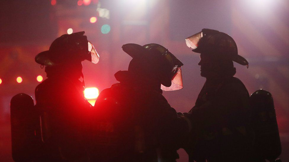 Canadian firefighters. File photo