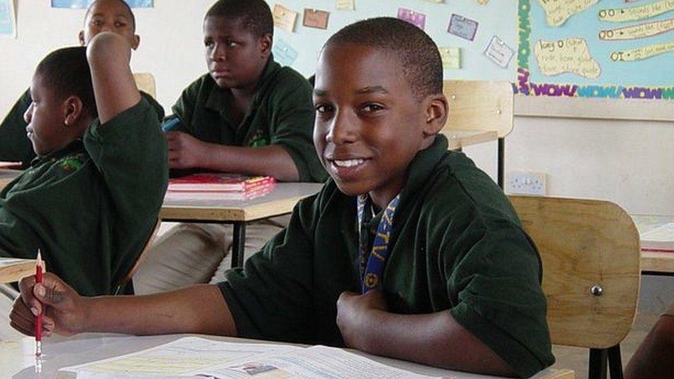Devon Brown at Baraka School