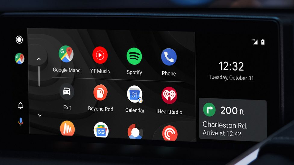 Android CarPlay system