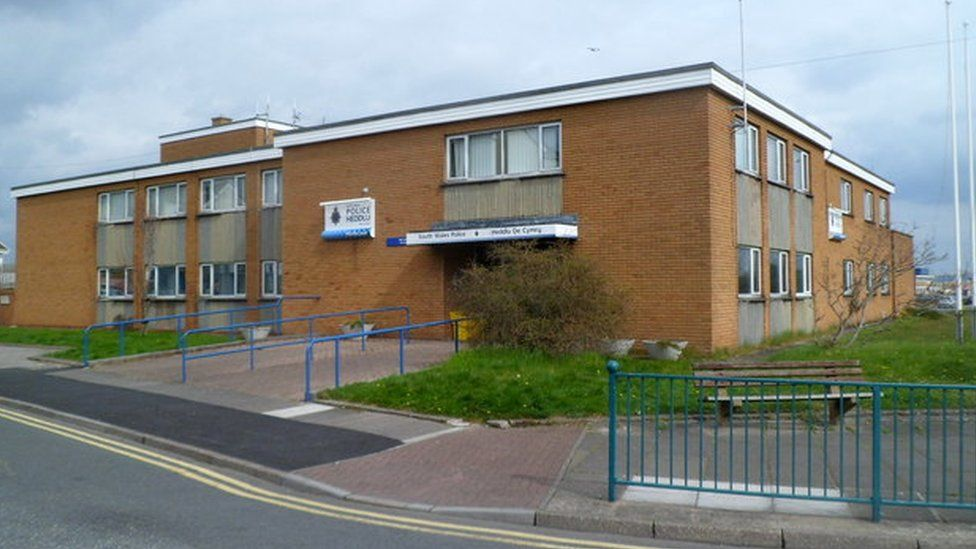 Porthcawl police station