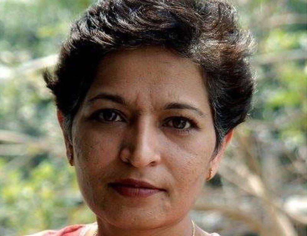 Picture of Gauri Lankesh