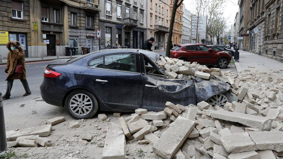 New Equation Could Predict Earthquakes Better Say Edinburgh Experts Bbc News