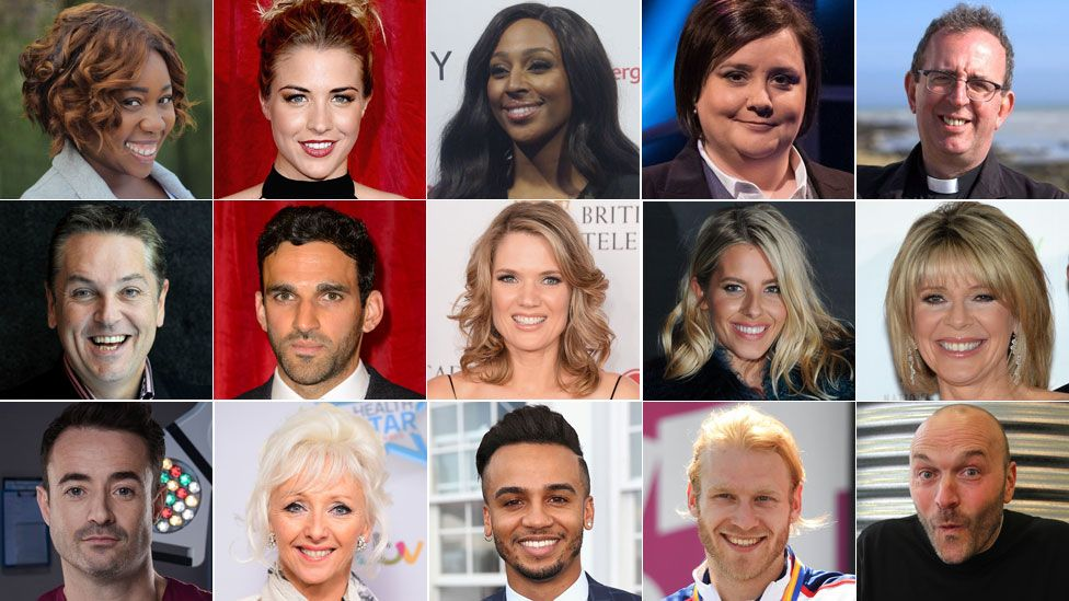 Strictly Come Dancing 2017 line-up
