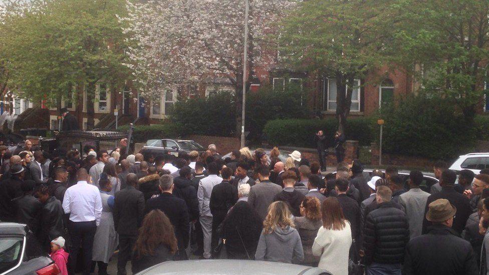 Raheem Wilks funeral
