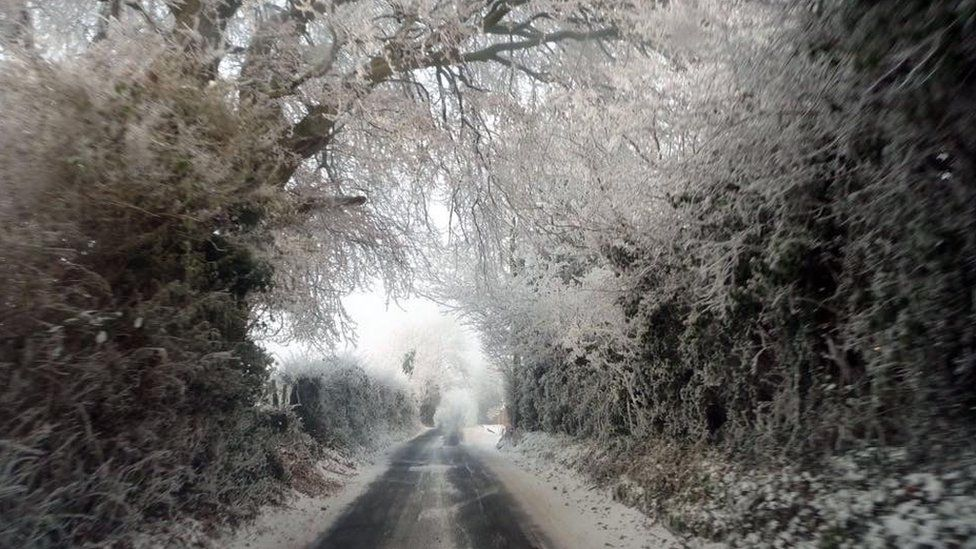 Snow in Newry
