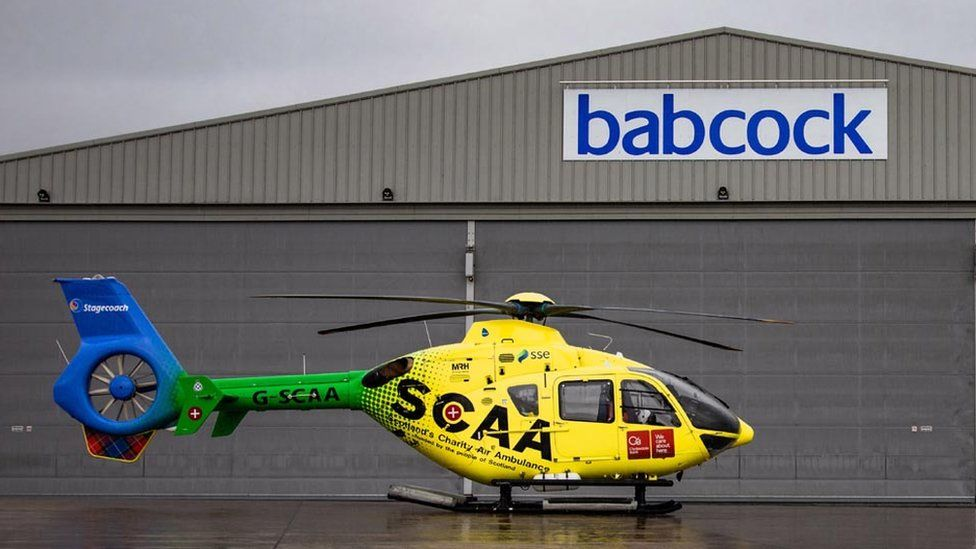 Air ambulance helicopter contract signed for Aberdeen service