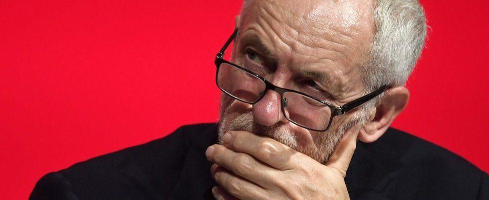 Jeremy Corbyn at Labour Party Conference on 23 September 2018