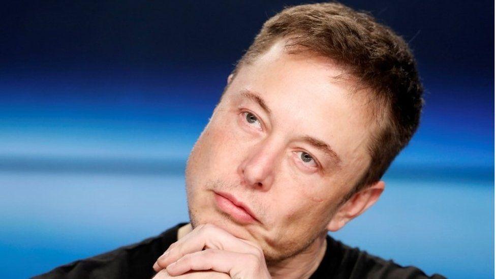 Tesla Chief Executive Elon Musk, 22 May 2018