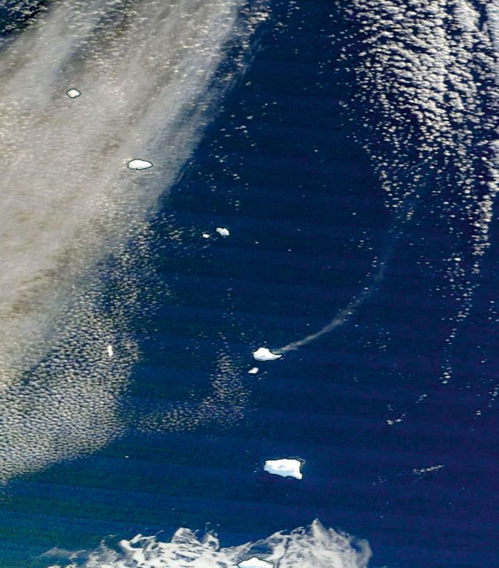 The South Sandwich Islands