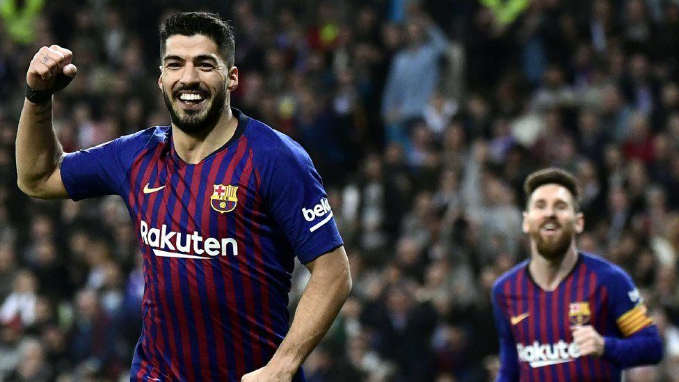 برشلونة في نهائي كأس ملك إسبانيا بفوز كاسح على ريال مدريد بثلاثية