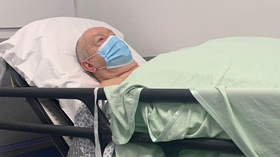 Chris Spencer in hospital