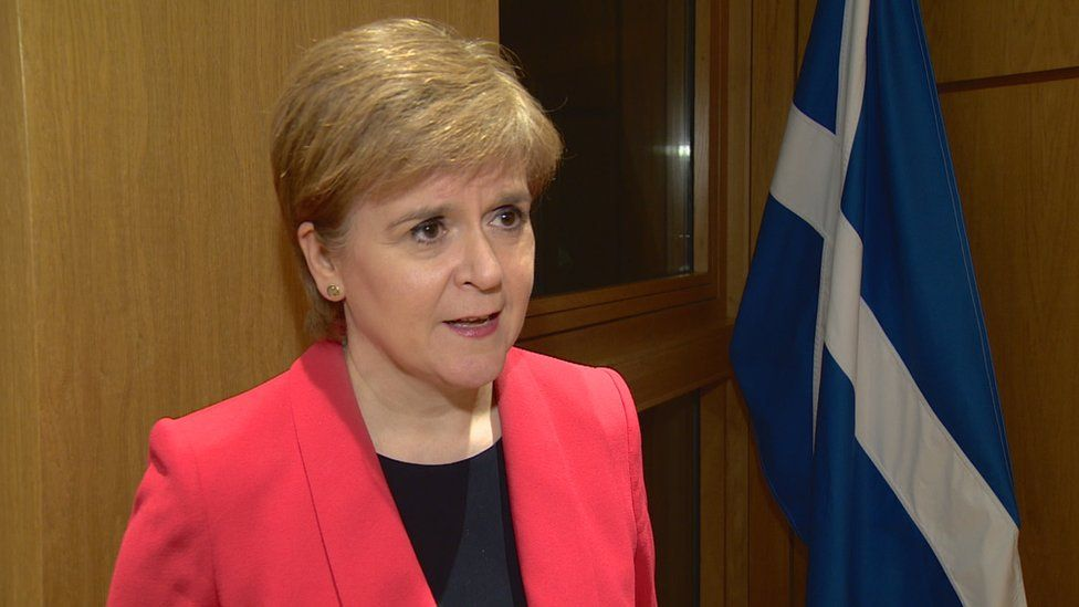 Brexit: Sturgeon says Commons defeat 'severe blow' to Johnson deal