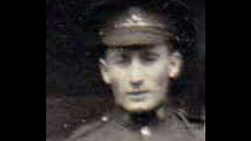 An undated photograph of Gordon Rochford