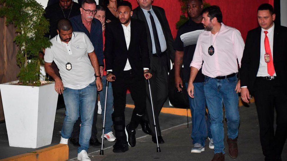 """Neymar : """"J'ai récupéré presque à 100%"""""""