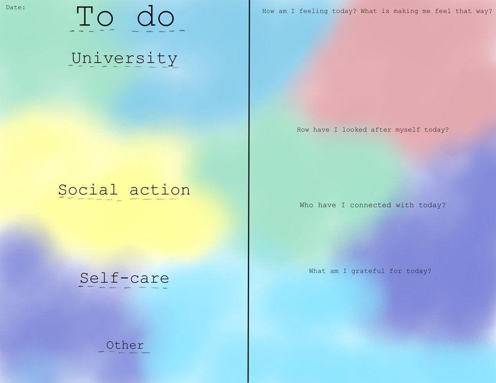 Naomi's self-help journal