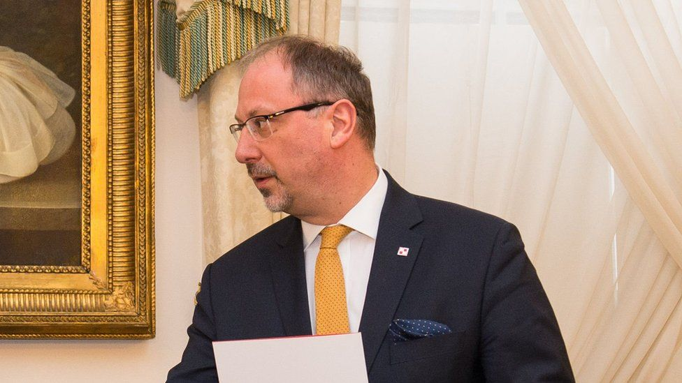 Polish ambassador to the UK Arkady Rzegocki
