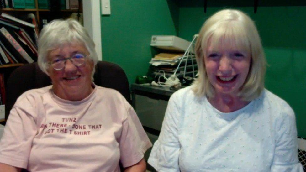 Margaret Hannay and Sue Bremner