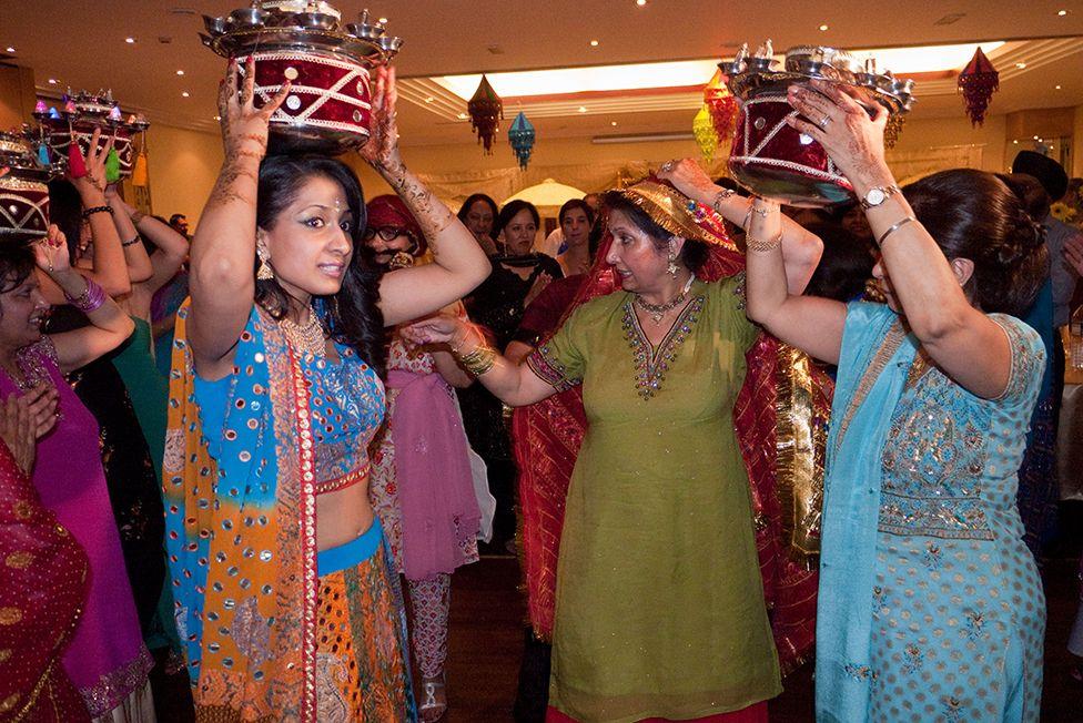 British Indian wedding in London
