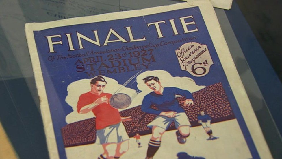 Official programme from the match