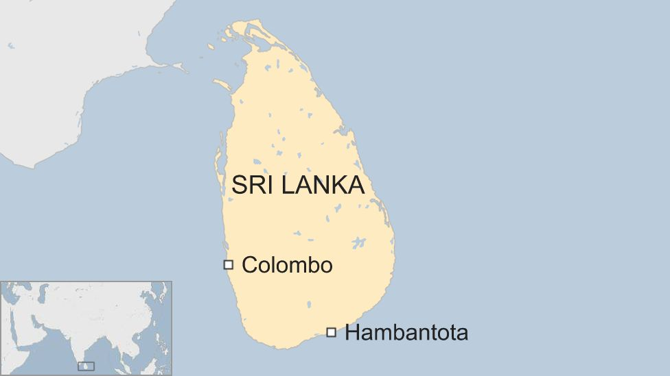Sri Lanka protest over Chinese investment turns ugly - BBC News
