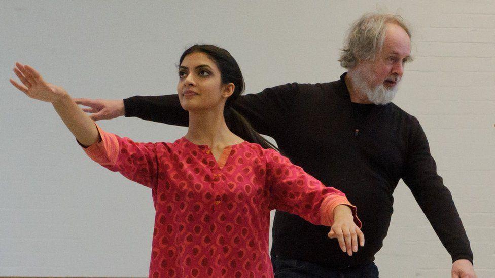 Vidya Patel and Richard Alston