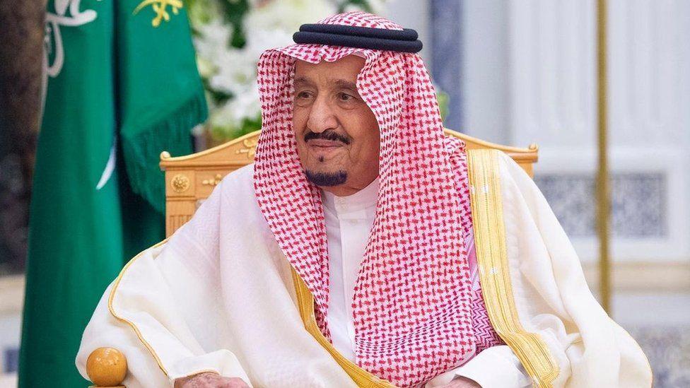 King Salman bin Abdul Aziz in Riyadh, Saudi Arabia (5 March 2020)