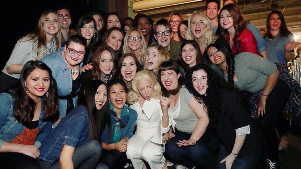 Julia, Fabiana and Lady Gaga