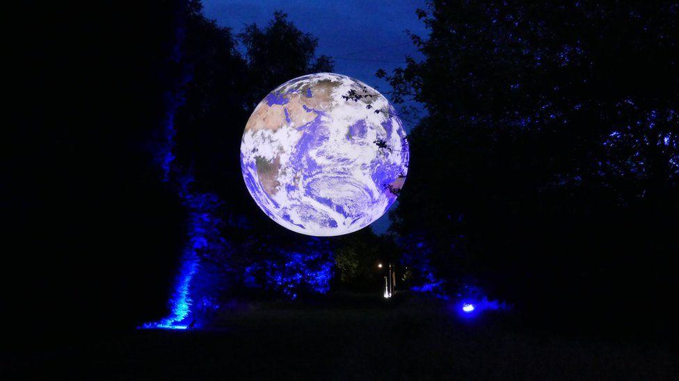 Earth sculpture