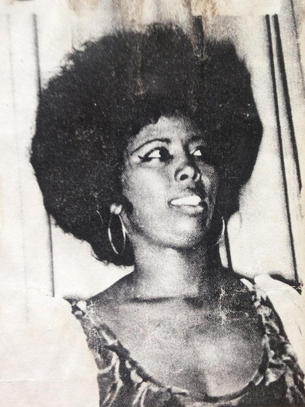 A young woman in 1970s Somalia