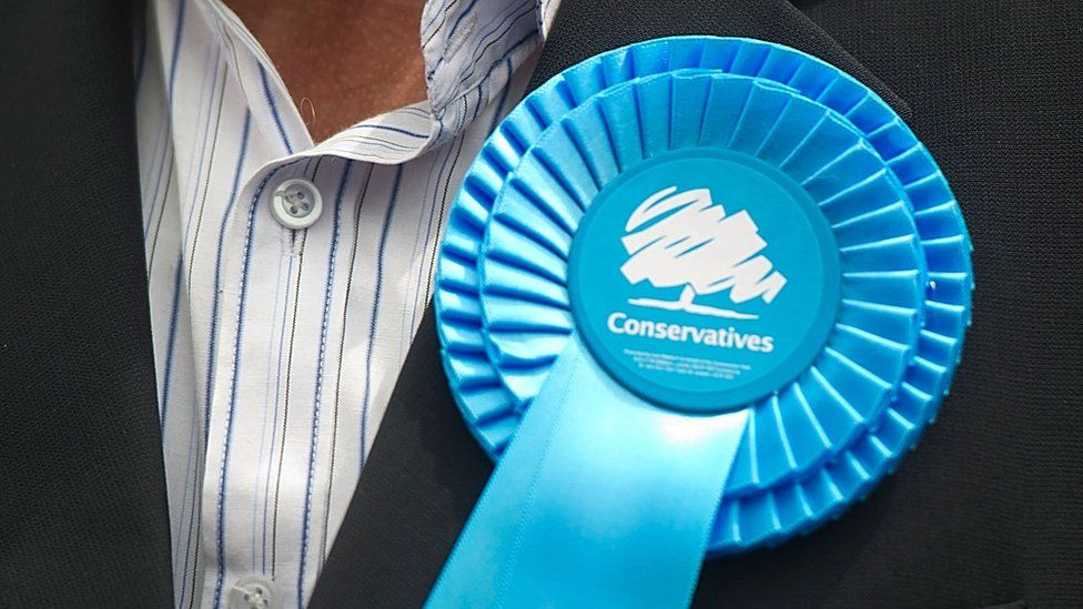 Conservatives rosette