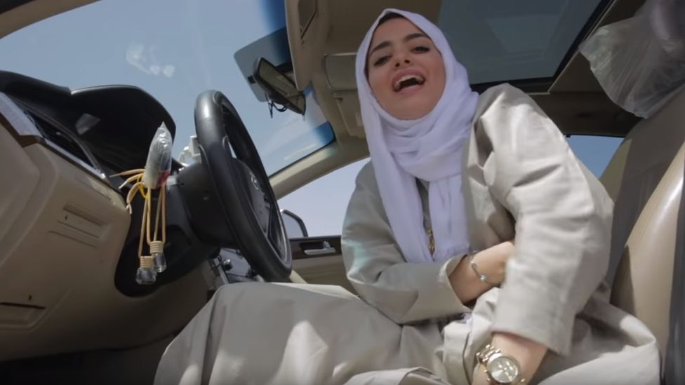 Leesa A released a music video of her rapping behind the wheel on the day the ban on women driving in Saudi Arabia was lifted
