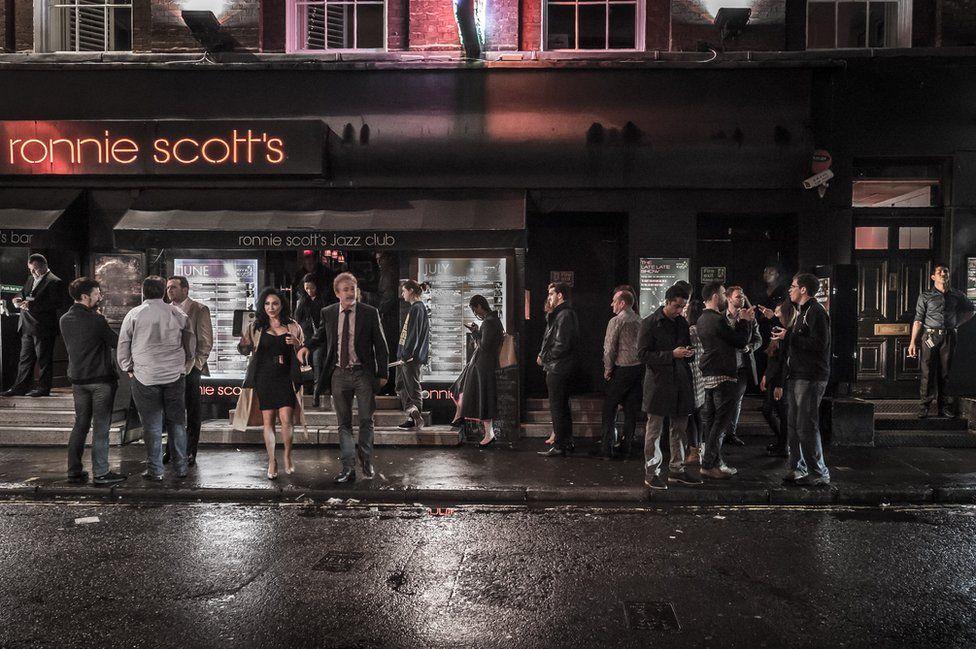 Ronnie Scott'sin London