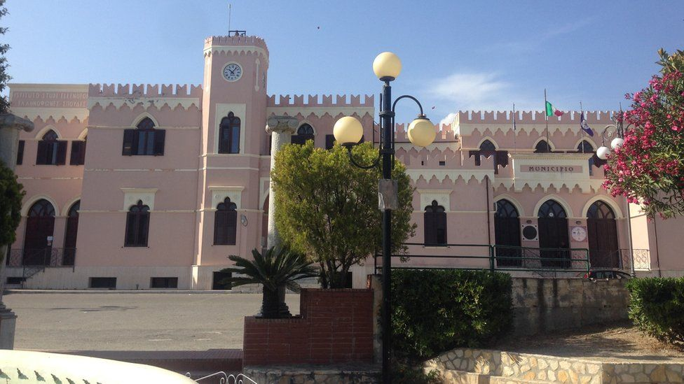 Bova town hall