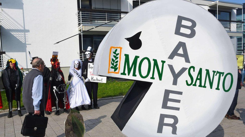 Bayer protest