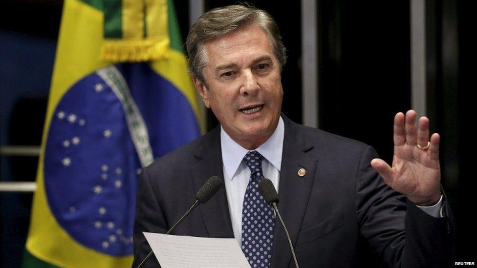 Senator Fernando Collor de Mello