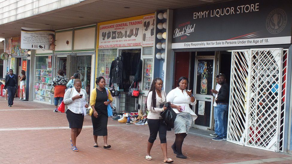 The liquor store in Randburg, Johannesburg