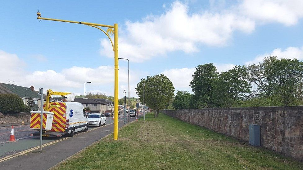 Old Dalkeith Road speed camera