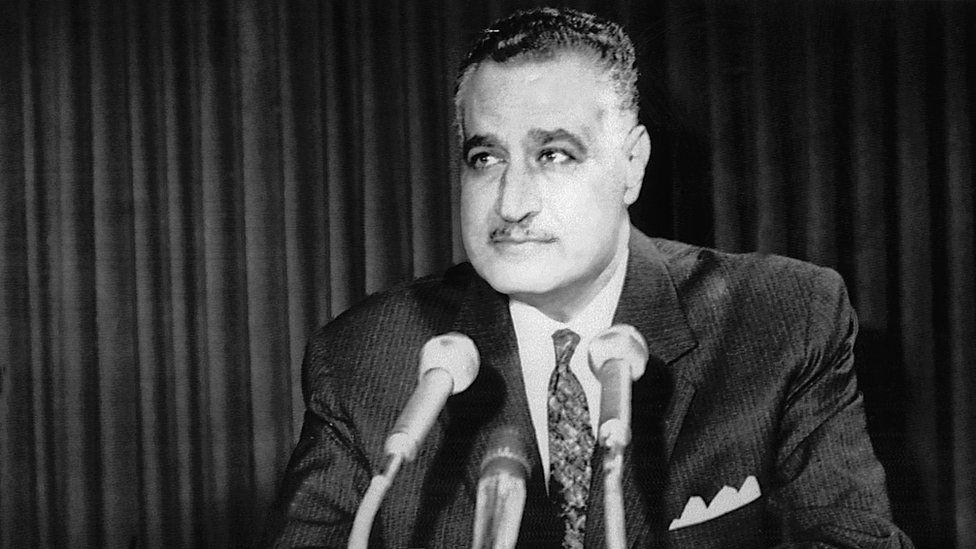 Egypt's president Nasser