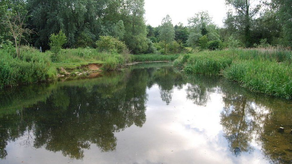 River Yare at the University of East Anglia