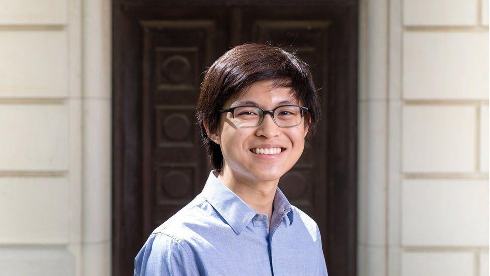 UT Austin graduate Ewin Tang