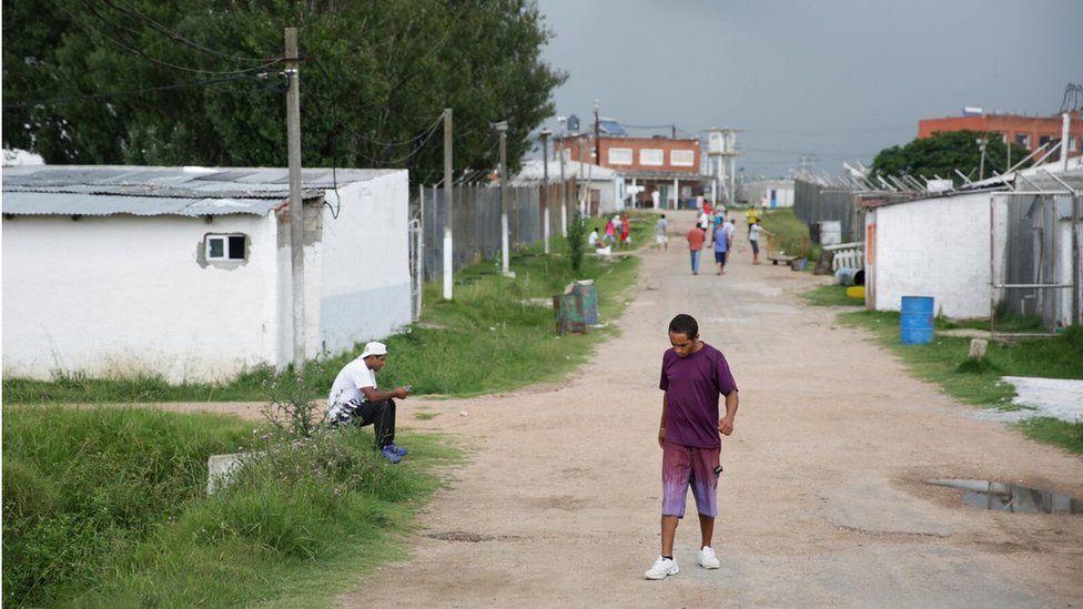 Inmates at Punta de Rieles