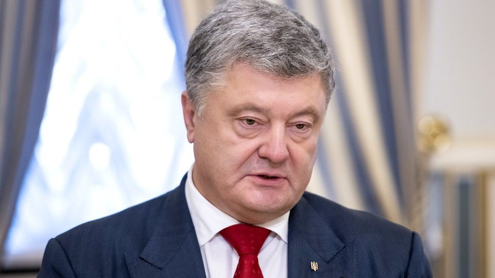 Ukraine's President Petro Poroshenko in Kiev, 14 September 2018