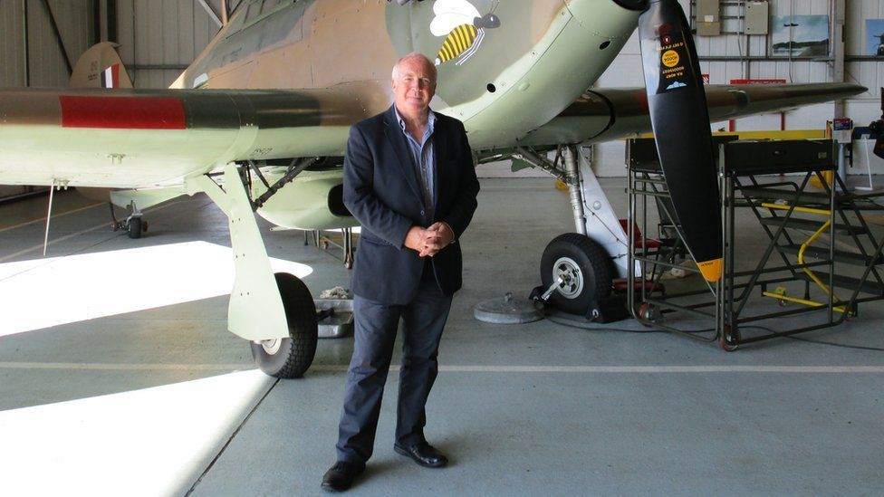 BBC Newsline reporter Mervyn Jess