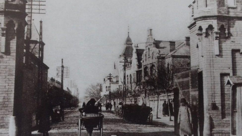 Legation Street East Gate