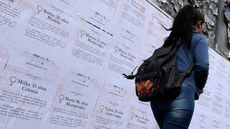A femicide awareness campaign in 2018 denounced the increasing amount of gender violence