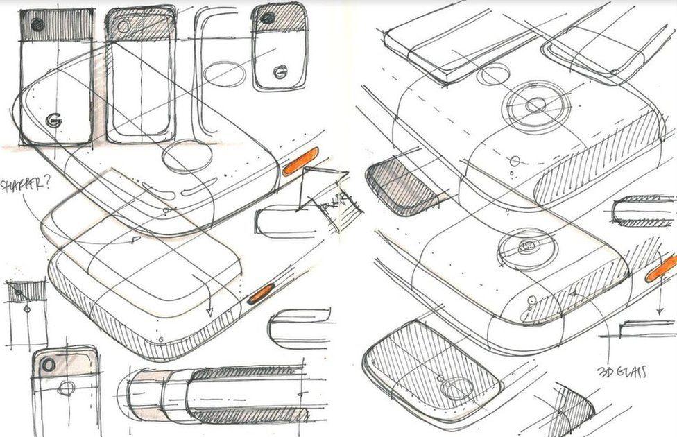 Pixel sketches