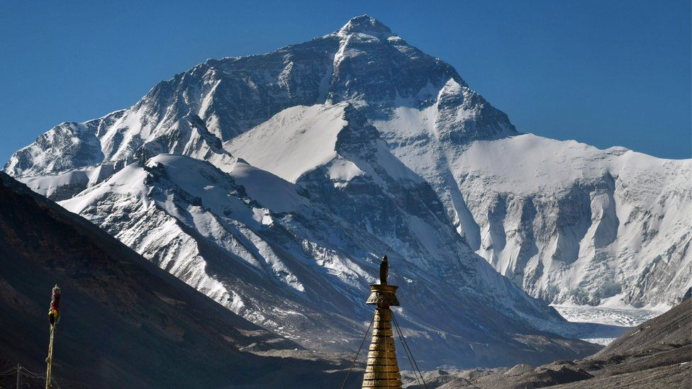 Mount Everest from the Chinese side