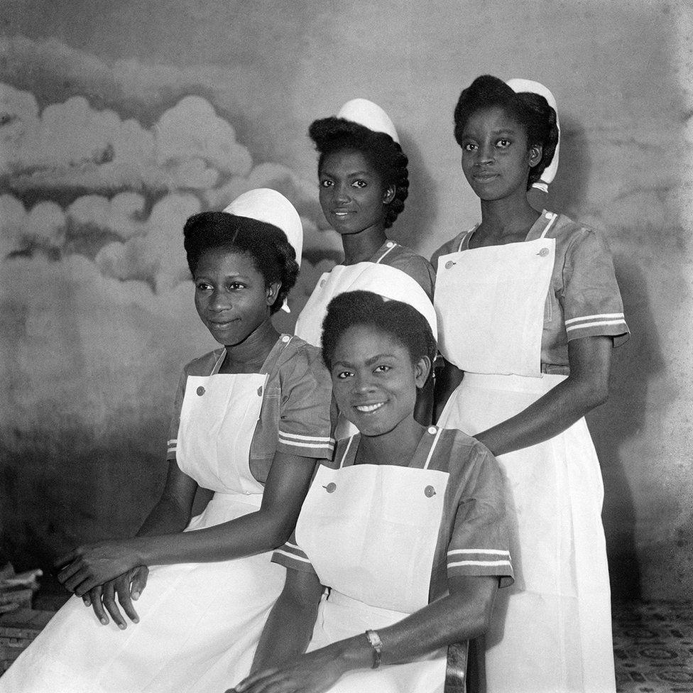 Four nurses