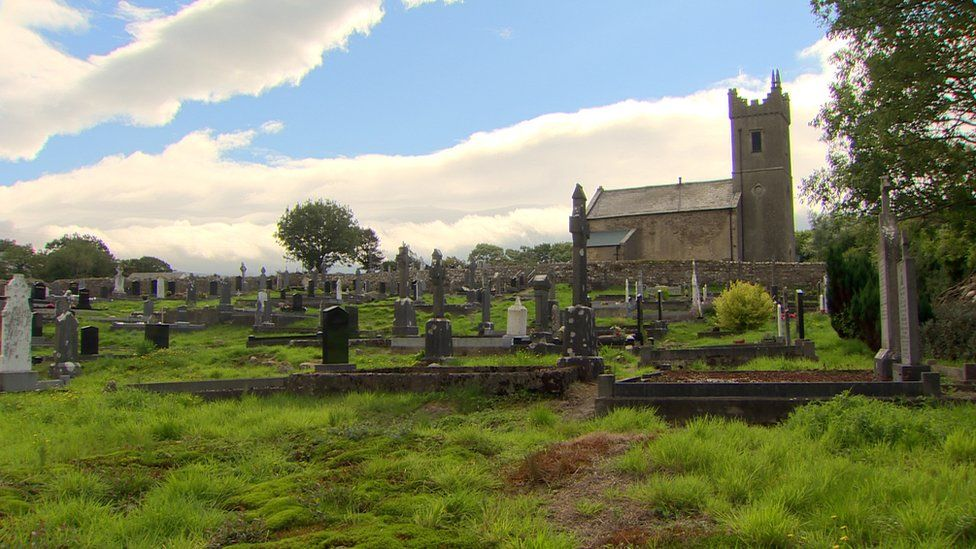 The graveyard in Ahamlish